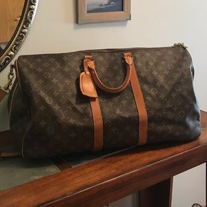 😍😍Auth Vintage LV Keepall 55 Bandouliere😍😍